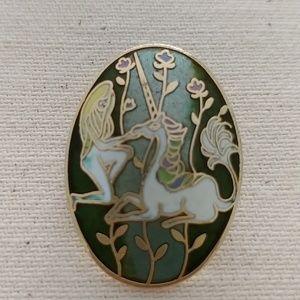 Jewelry - Vintage Unicorn Pin